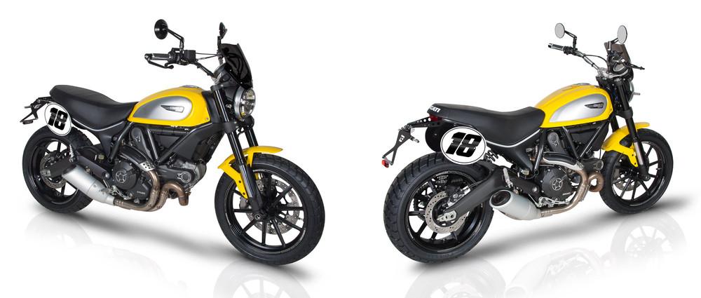 Motorradzubeh 246 R Ducati Scrambler 2015 2016
