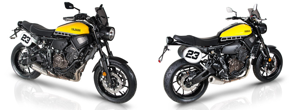 motorradzubeh r yamaha xsr 700. Black Bedroom Furniture Sets. Home Design Ideas