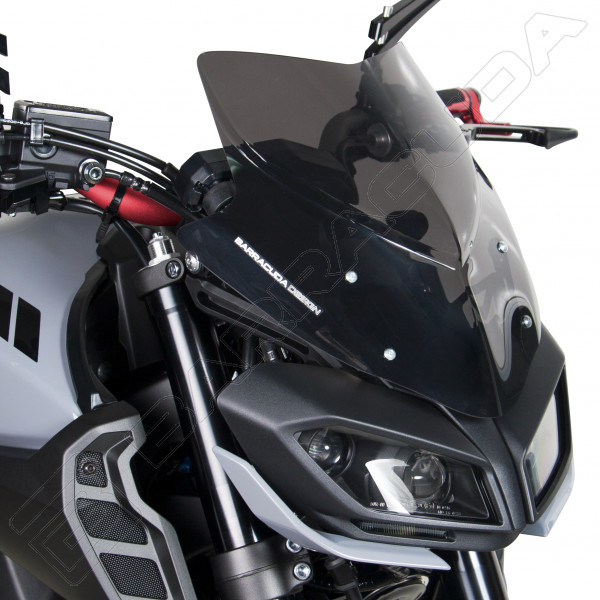 barracuda windschild yamaha mt09 baujahr 2017. Black Bedroom Furniture Sets. Home Design Ideas