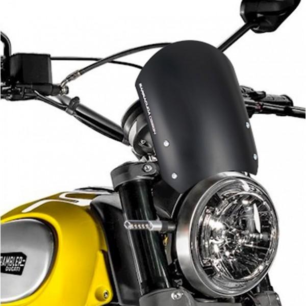 Windschild Aerosport Aluminium für Ducati Scramber
