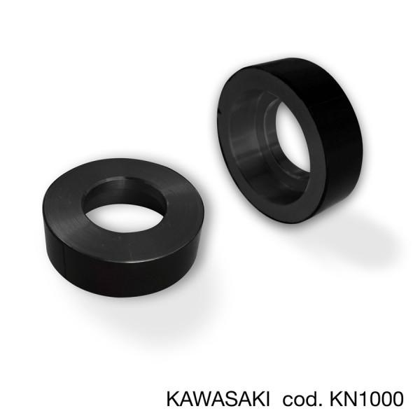 Adapter für Bar End Spiegel und Hebelprotector Kawasaki (Paar)