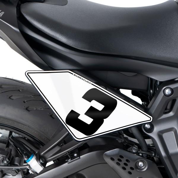 Nummerntafel Yamaha MT-07 2021