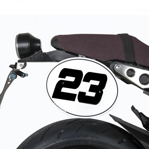 Nummerntafel Yamaha XSR900