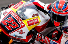 Great second place in Argentine for Sam Lowes!